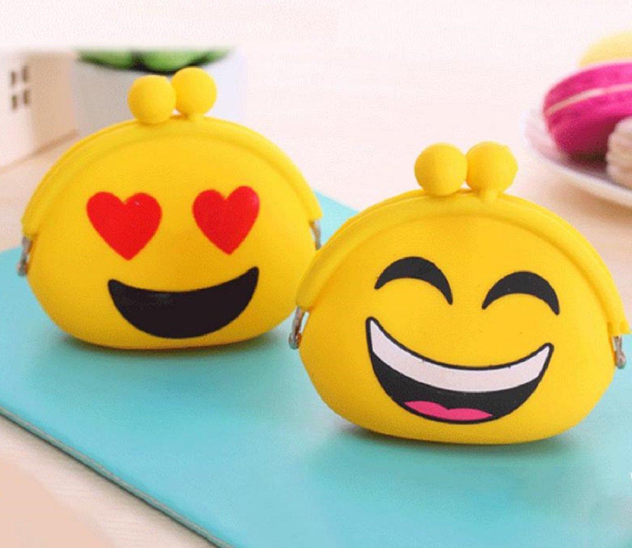 Leuchtbox Leuchtbox Silikon Geldbörse Emojis - Cartera Niños, Gelb (Liebe) (amarillo) - LB00265: Amazon.es: Equipaje