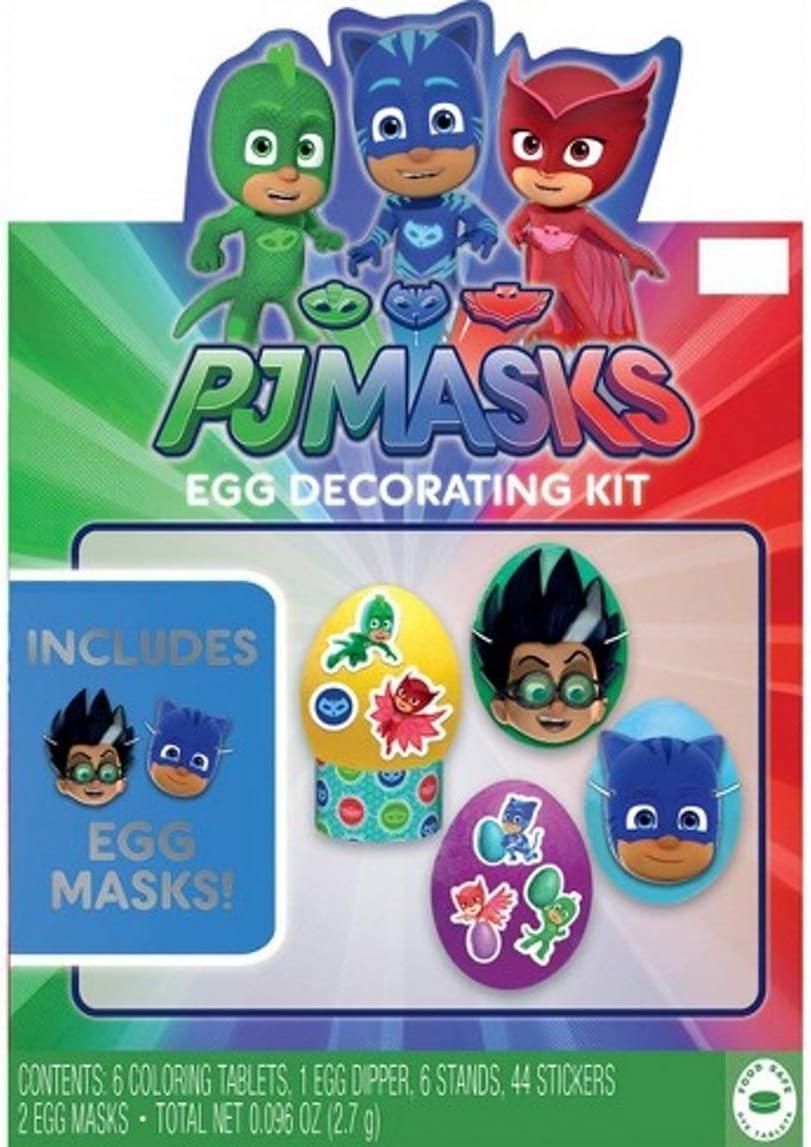 Happy Spring PJ Masks - Kit de decoración de huevos de Pascua ...