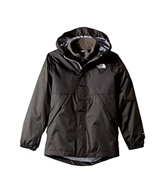 204c2f22601e Image Unavailable. Image not available for. Color  The North Face Kids  Stormy Rain Triclimate Little Kids Big Kids TNF Black Boy s Coat
