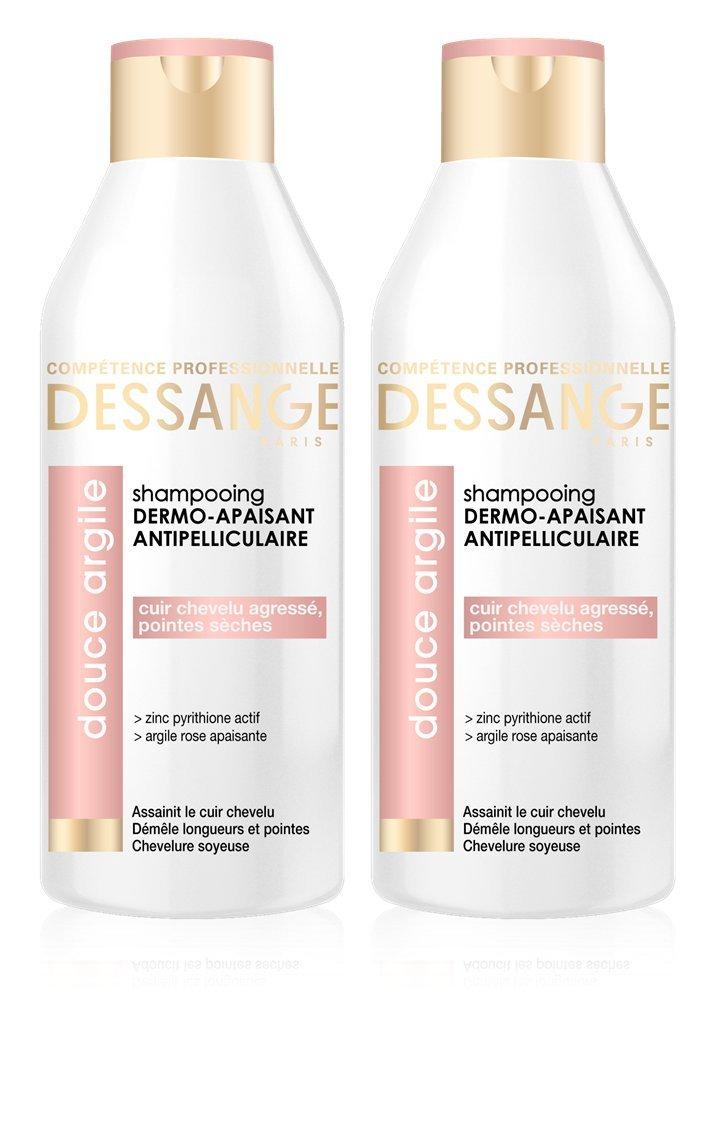 Célèbre Dessange - Argile Rose Shampooing Antipelliculaire Dermo-Apaisant  IT49
