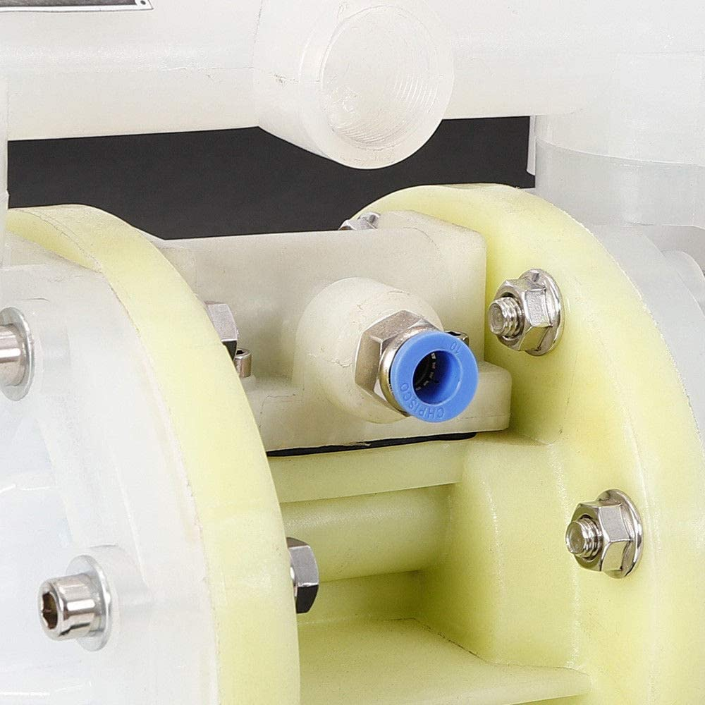 Water Pump Pneumatic Double Membrane Pump Submersible Diaphragm Pump 100 PSI 6KG Double Membrane Air Printing