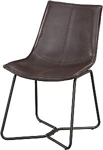 Alpine Furniture Dining Chair Dark Brown