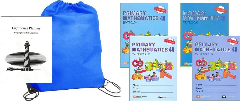 Download Primary Mathematics Grade 4 Workbooks homeschool kit in a bag PDF