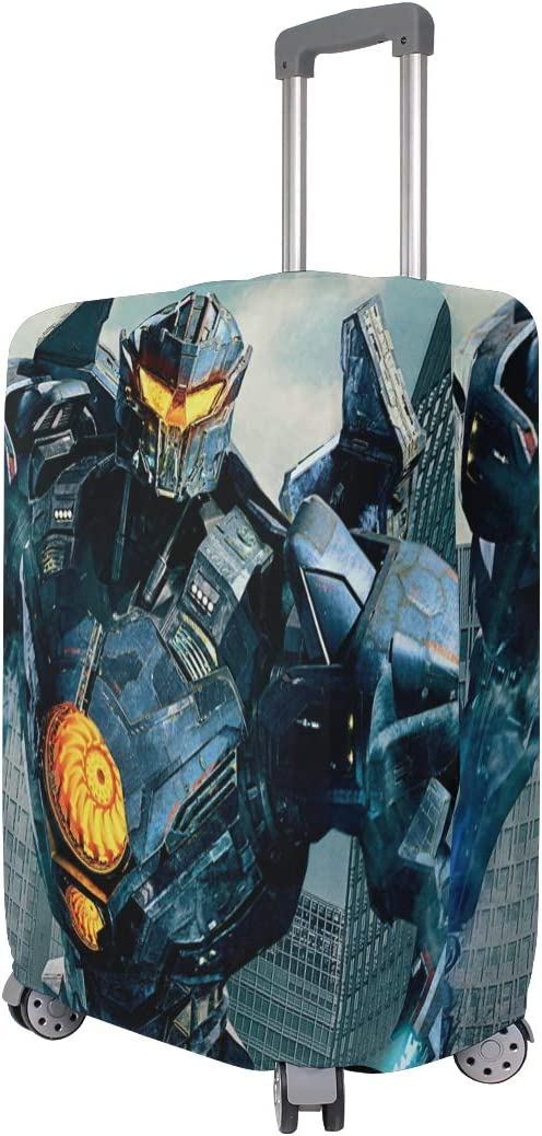 Pacificrim Uprising Robot War suitcase cover elastic suitcase cover zipper luggage case removable cleaning suitable for 29-32 trunk cover