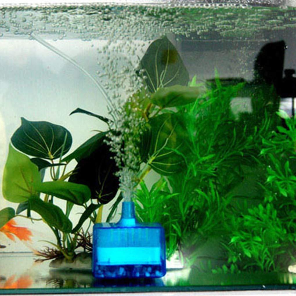 Fangfeen Colador de Malla Mini Ronda Tienda Fish Tank Súper neumático Bioquímica casa de Acuario Filtro de carbón Activado: Amazon.es: Hogar