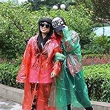 Best IkEA Men Slippers - VIPASNAM-Disposable Women Men Raincoat Outdoor Transparent Windproof Rain Review