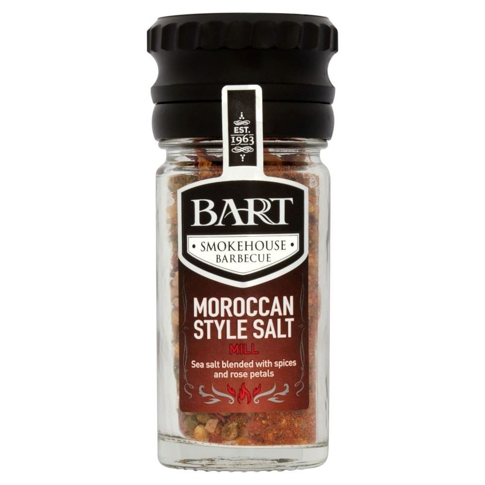 Bart Smokehouse Barbecue Moroccan Salt Mill (40g)