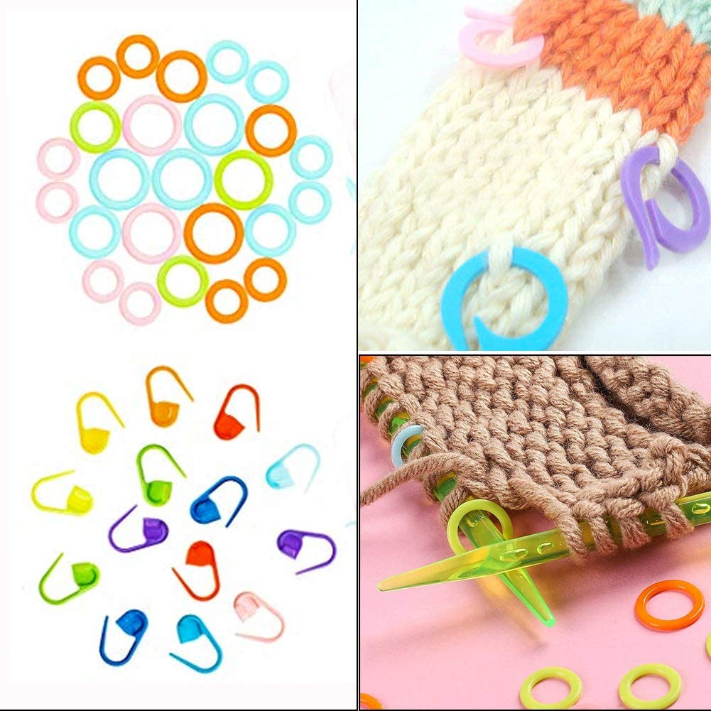 5x Knitting Pins Double-Ended Set of Five 30cm No2.5 Sewing Craft Tool