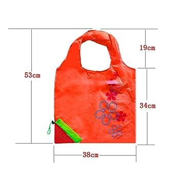 Strawberry Einkaufstaschen, nacola Nylon wiederverwendbar