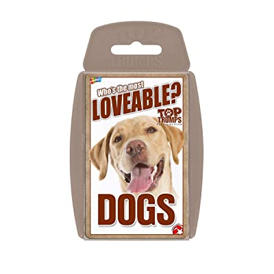 Lovable Dogs Top Trumps Card Game: Toys & Games