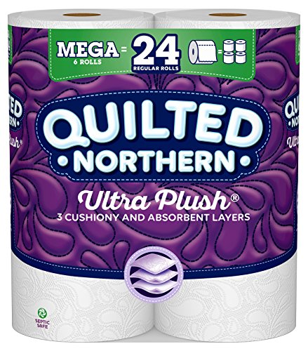 Quilted Northern Ultra Plush Toilet Paper, 6 Count, Pack of 1