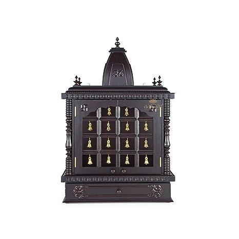 Aakaar Idols Temples Handcrafted Wooden Templemandap
