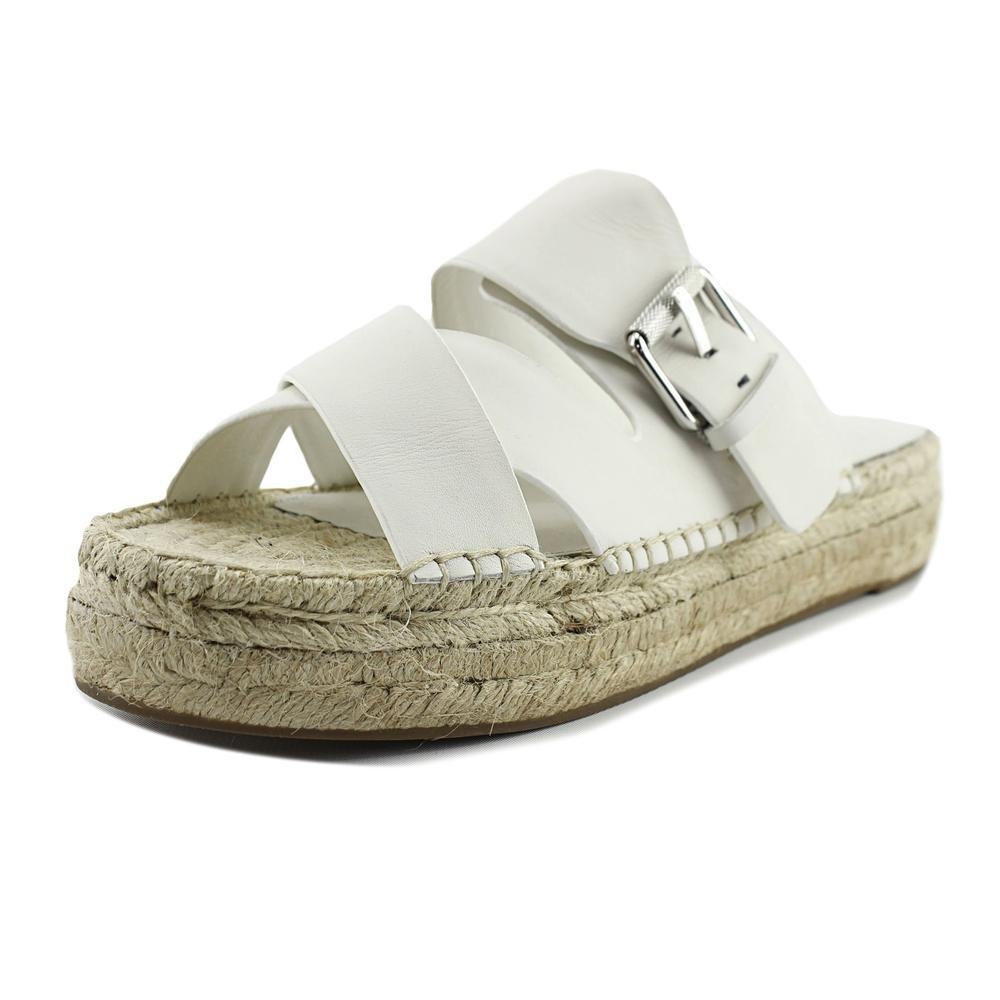 Marc Fisher LTD Women's Venita Chic Cream Fine Stetson Sandal