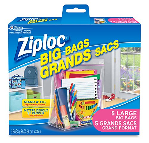 Ziploc Big Bags Storage with Double Zipper Large - for sale  Delivered anywhere in Canada