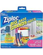Ziploc Big Bags Storage with Double Zipper