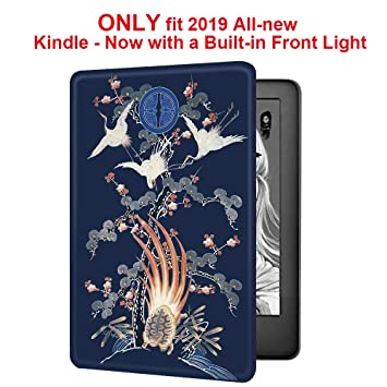 Youngme Martshell - Funda para Kindle 2019 con 2 Correas de Mano ...