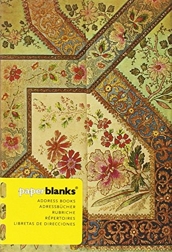 Blumenpracht Bukett Elfenbein - Adressbuch Mini - Paperblanks Add Paperblanks Stationery