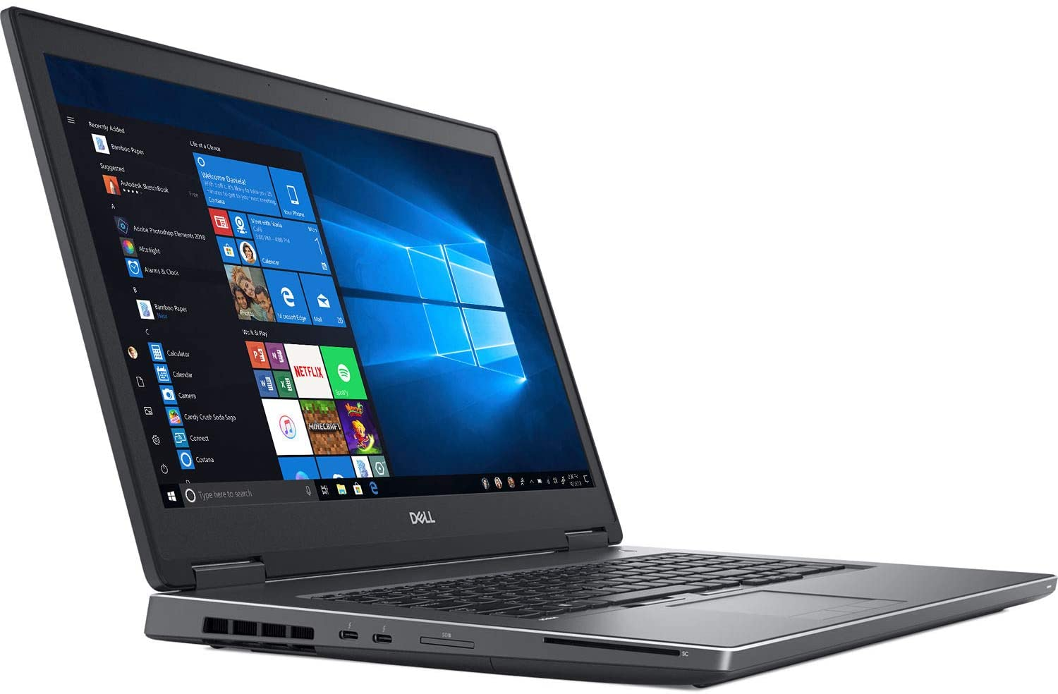 "Dell Precision 7730 1920 X 1080 17.3"" LCD Mobile Workstation with Intel Core i7-8850H Hexa-core 2.6 GHz, 16GB RAM, 512GB SSD"
