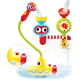 Yookidoo Bath Toy - Submarine Spray Station - Battery Operated Water Pump with Hand Shower, Googly Eyes Water Spinner…
