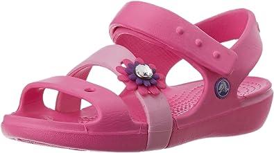 Amazon.com: crocs Keeley Petal Charm PS