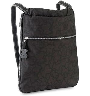 Bandolera Lindsay, Womens Cross-Body Bag, Negro (Black/Black), 2x31x28 cm (W x H L) Tous