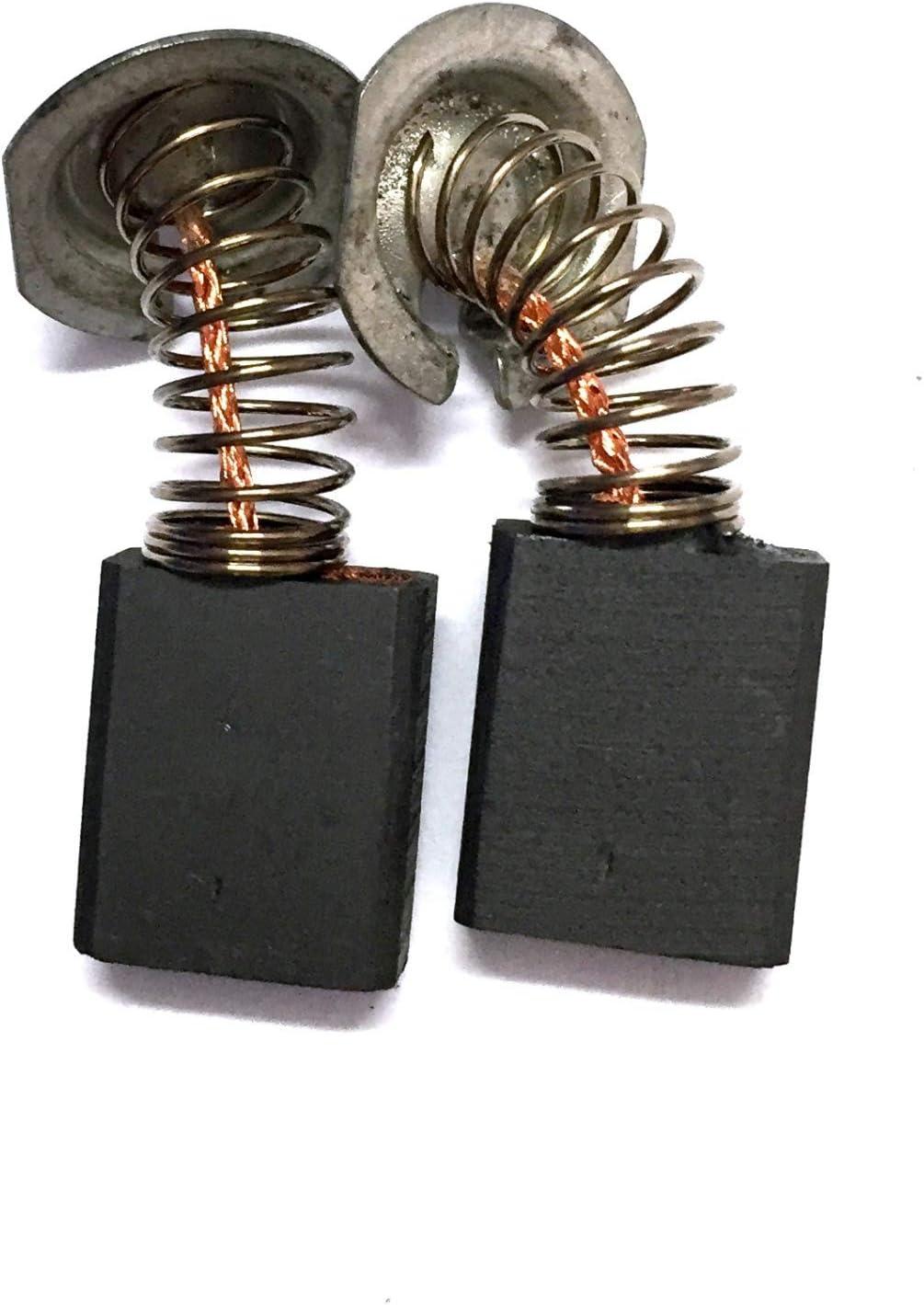 escobillas de carb/ón GOMES 5x11x15,5 compatible Makita CB-318//CB-318