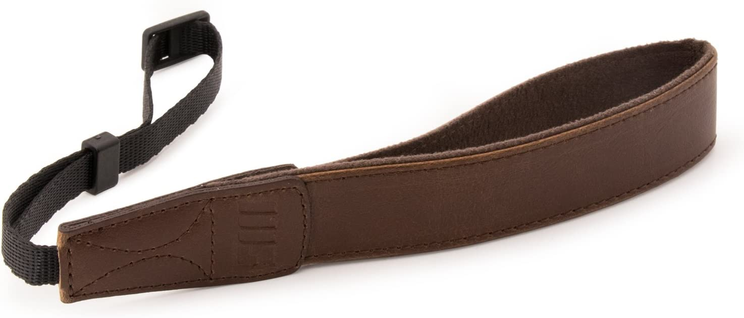 Black MegaGear MG1410 SLR DSLR Leather Wrist Strap