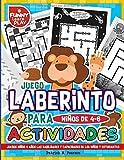 Juego Laberinto para Niños de 4-6 Actividades: Juegos Niños 4 años Las Habilidades y Capacidades de los Niños y Estudiantes