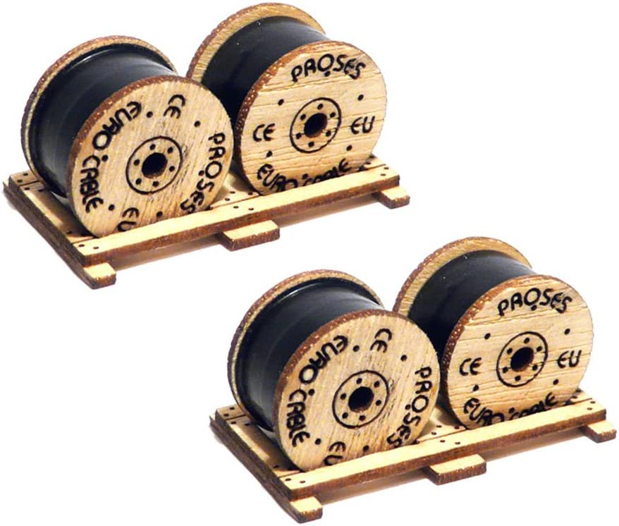 2 Pack Bachmann Industries Cable Drums Kit