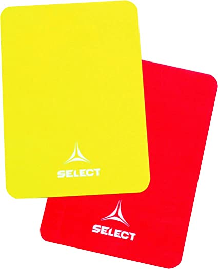 Select Tarjetas de árbitro, One Size, Rojo, Amarillo ...