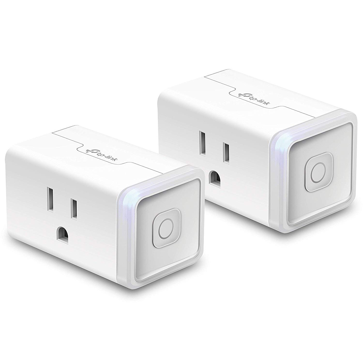 TP-Link HS105 KIT Mini WiFi Smart Plug No Hub Required, Compatible with Alexa Echo & Google Assistant, 2 Pack, White, 2 Wi-fi (Certified Refurbished)