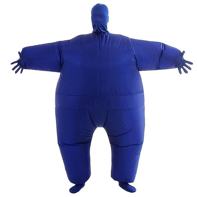 THEE Disfraces Inflable Luchador de Sumo Traje Hinchable para Halloween: Amazon.es: Juguetes y juegos
