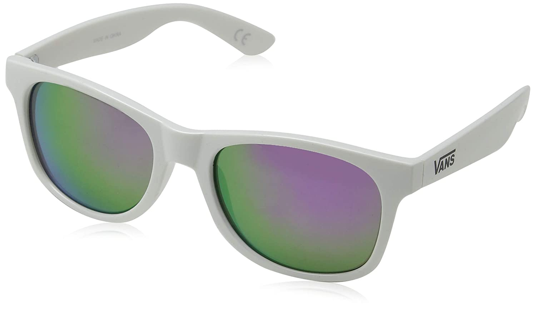 f4a000c85089 Vans Men's Spicoli 4 Shades Sunglasses, White-Green Lapis Blue, 50:  Amazon.co.uk: Clothing
