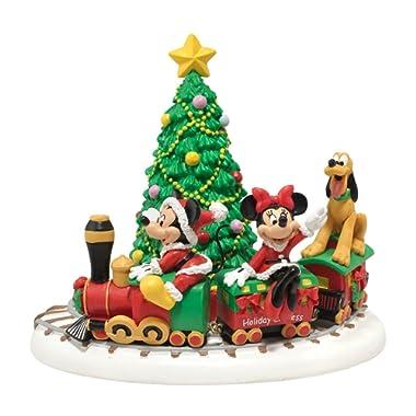 Department 56 Disney Village Miniature Display Piece Mickey's Holiday Express