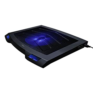 NOX Taku - Base de refrigeración para Ordenador portátil (USB 2.0, 15 dB), Negro: Amazon.es: Informática