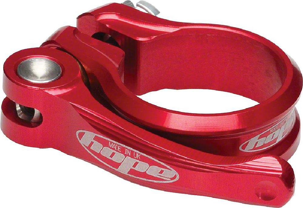 Hope Seat Clamp QR Red 34.9