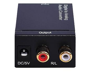 Convertidor De Audio Super Mini Analógico A Digital Simultáneamente Convierte Señales De Audio Analógico