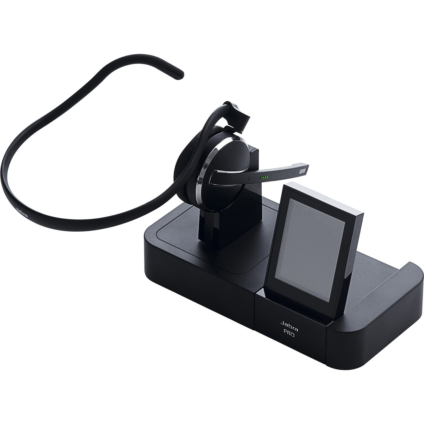 Jabra PRO 9470 Mono Wireless Headset with Touchscreen for Deskphone, Softphone & Mobile Phone by Jabra