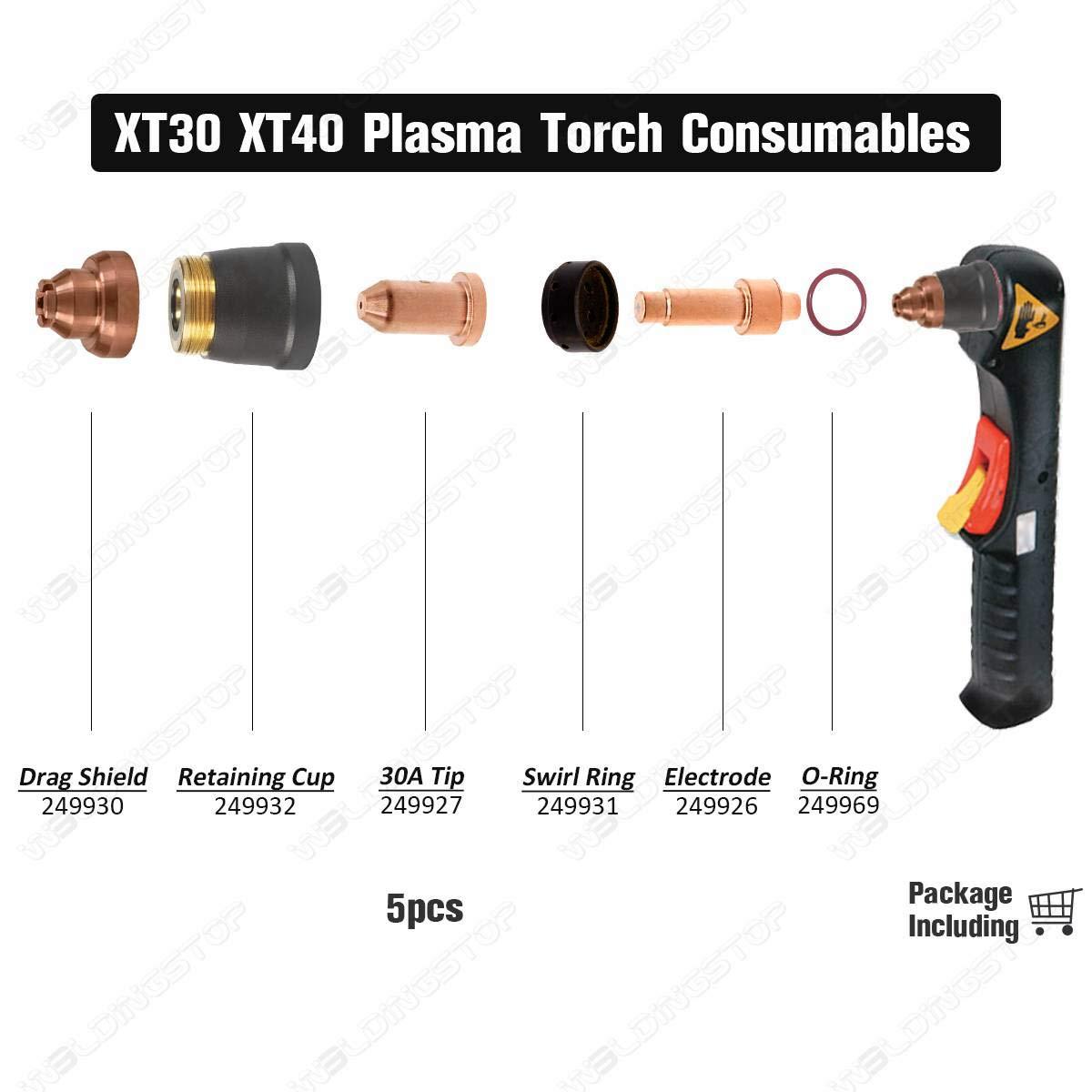 Miller Spectrum Plasma Tip for XT-30 Torch 249927 Pkg//3