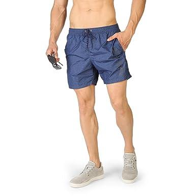 231612e6175d99 Short de Plage Bleu foncé Navigare Homme - Buzzao  Amazon.fr  Vêtements et  accessoires