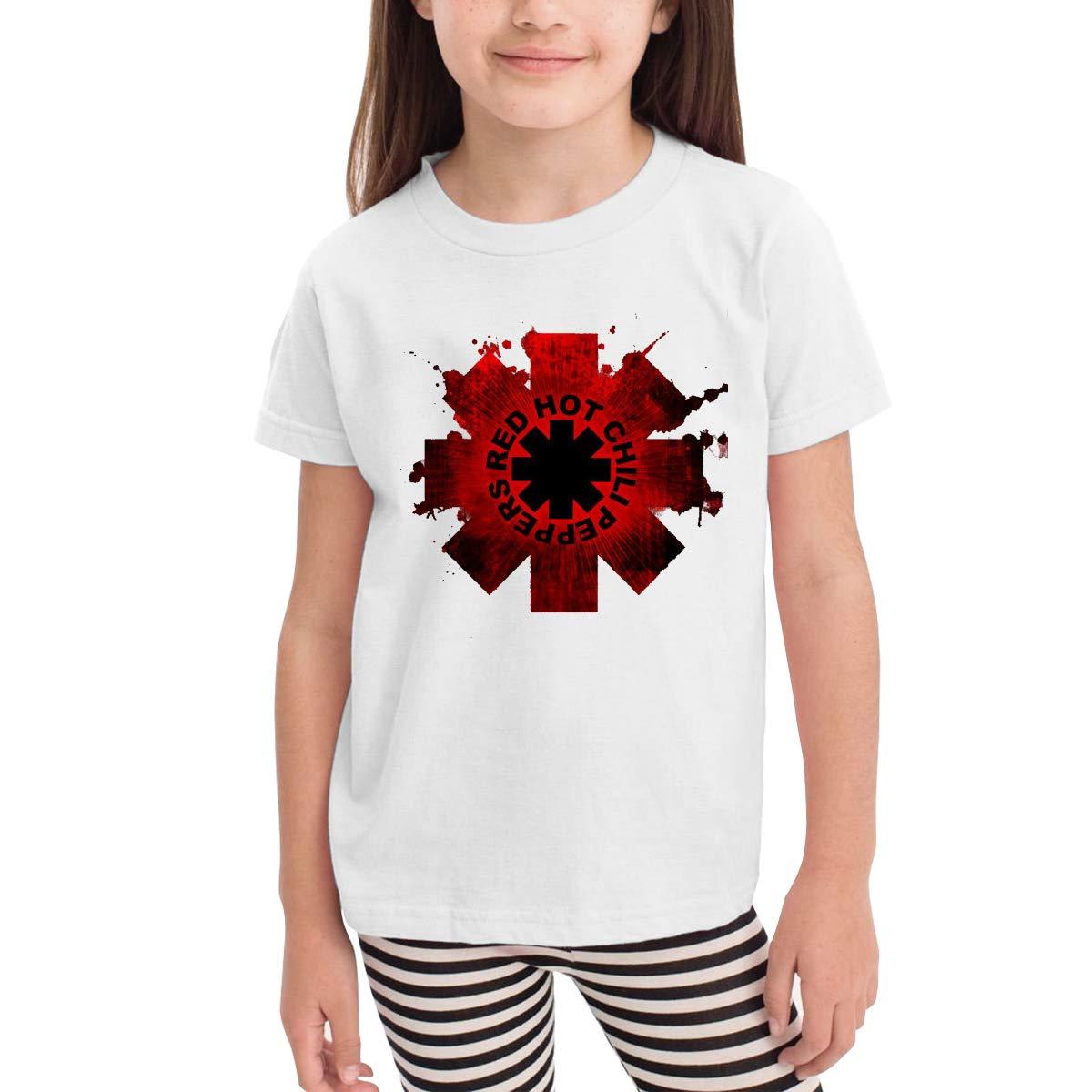 Marsherun Hot Chili Peppers Rock Band Logo Girls S Tee For Tops 1185 Shirts