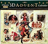 Best Value Classic Vintage Victorian 3D 3-D Fold-Out Christmas Advent Calendar of Colorful Old Fashioned Xmas Perfect Holiday Gift. Imported {jg} For mom, dad, sister, brother, grandma, friend, gay