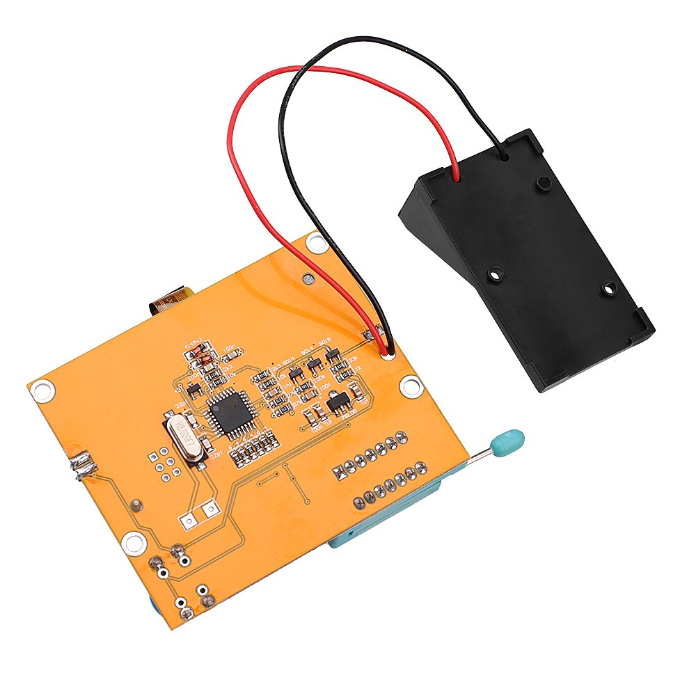 12864 Mega328 Esr Transistor Resistor Diode Capacitor Mosfet Tester Test Circuit W Hook