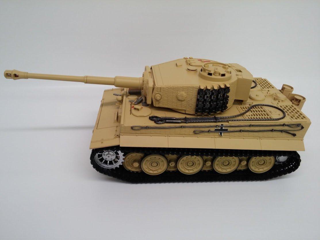 R / C 2.4ドイツタイガー1、Lateバージョン、赤外線Taigen 1 / 16th B00DVKWEPA