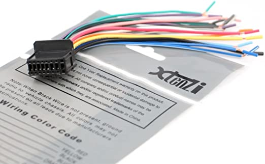 Amazon.com: Xtenzi Car Radio Wire Harness Compatible with Pioneer CD DVD  Navigation In-Dash - XT1603-21: AutomotiveAmazon.com