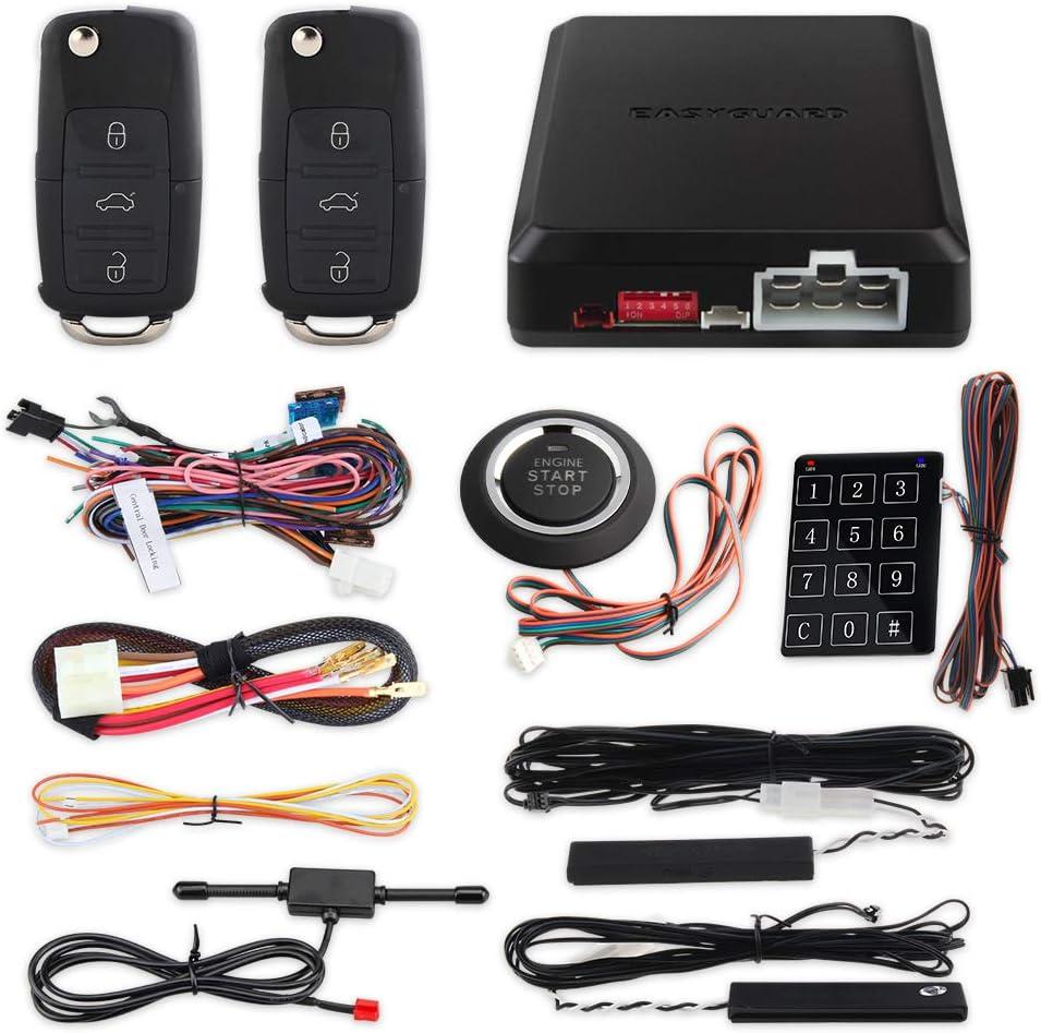 Oberseite Qualität Smart Schlüssel Pke Auto Alarm Elektronik