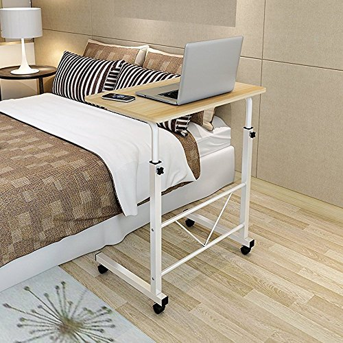 Soges adjustable lap table portable laptop computer stand for Divan overbed table
