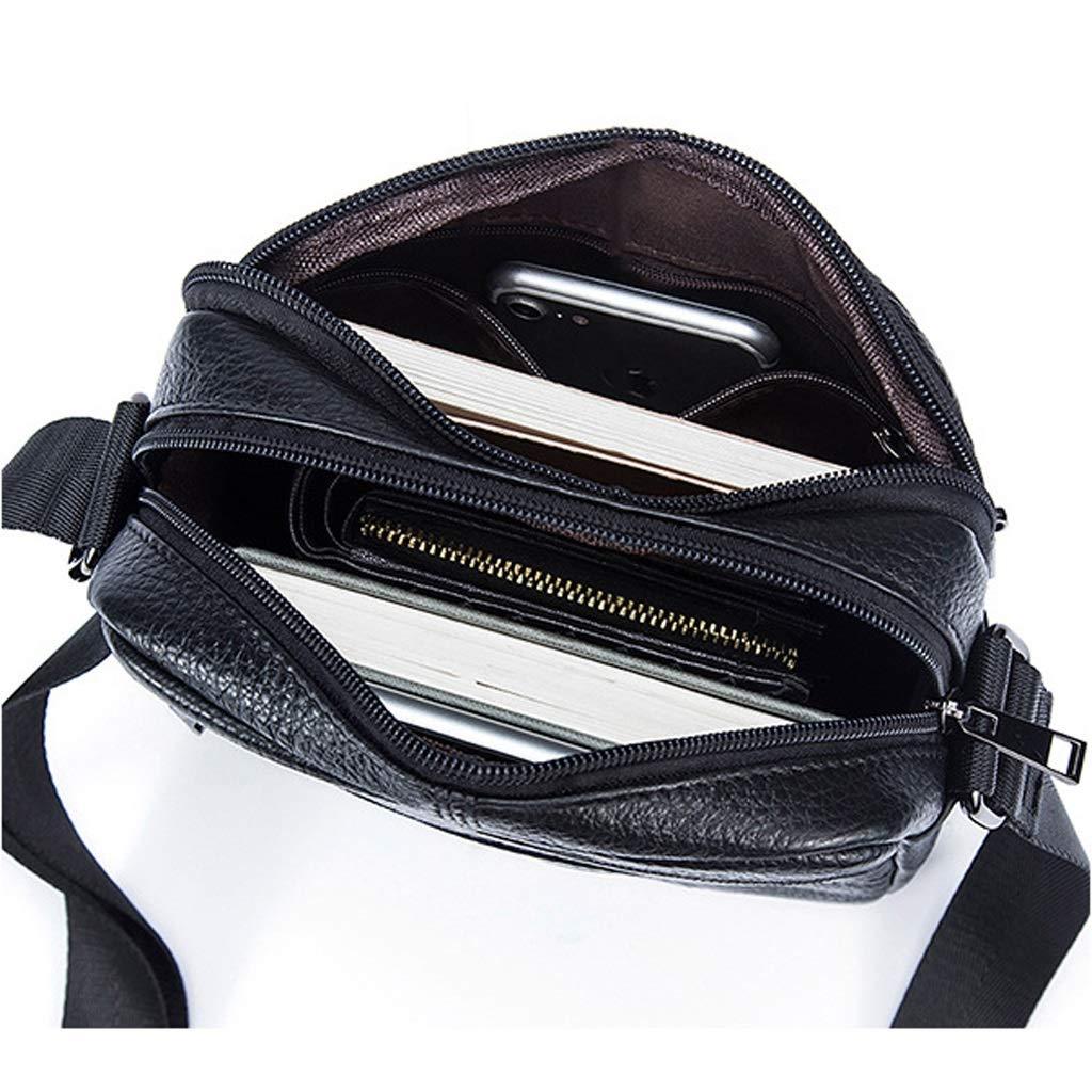 Mens Messenger Bag Business Retro Shoulder Bag Leisure entertainment Packet 6.882.757.87 Inch LWH)