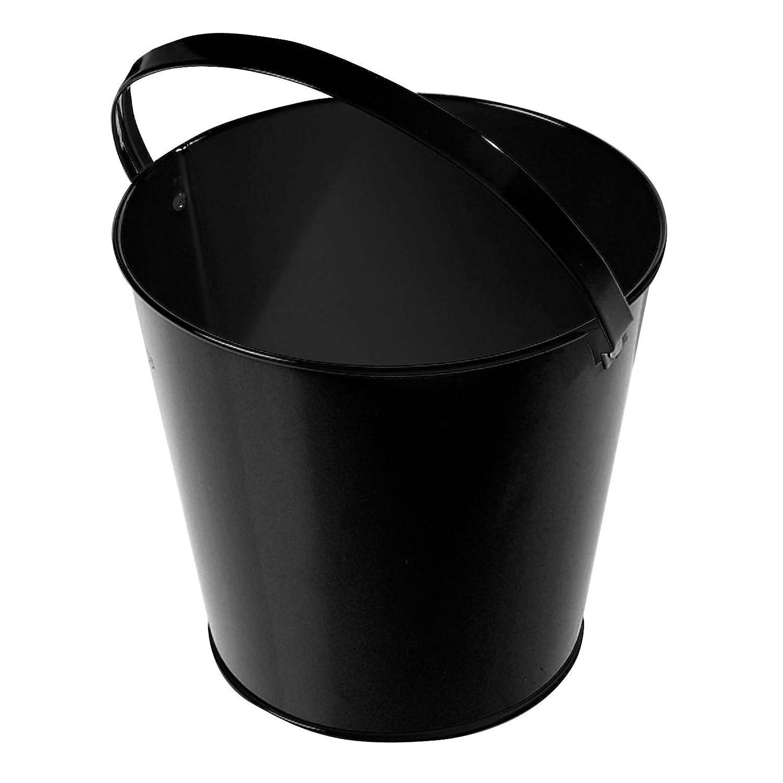 amazoncom red decorative metal mini bucket with handle 1 toys u0026 games