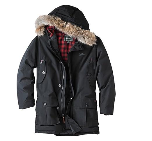 Amazon.com: Woolrich Hombre Arctic Down Parka 550 Fill Negro ...